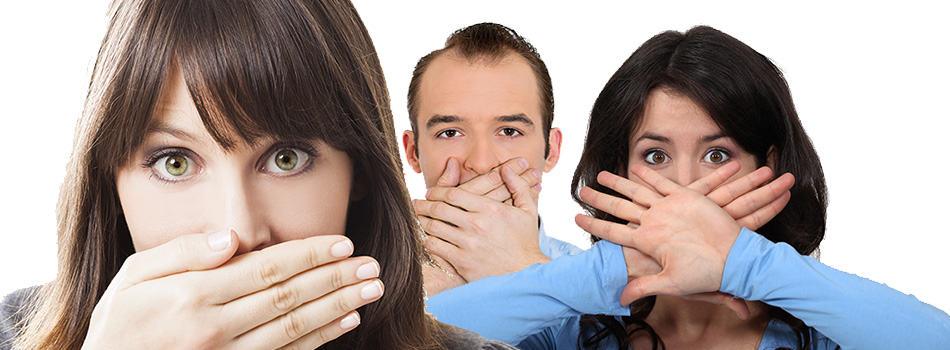 3 people afraid of the dentist